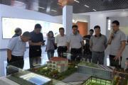 广东省清远市政协考察组到平舆县考察产业发展情况