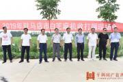 2019年驻马店市白芝麻机收打捆现场会在平舆县召开