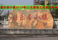平舆房产【雅乐居小镇】2019年11月最新工程进度播报