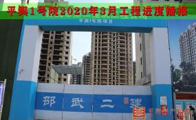 平舆房产【平舆1号院】2020年3月最新工程进度播报