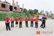 平舆县委书记张怀德到乡镇就文明城市创建工作进行现场办公
